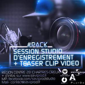 Pack Session Studio & Video Teaser