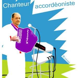 Mick Fontaine, chanteur accordéoniste