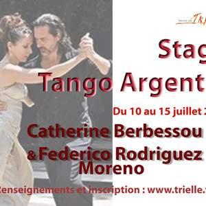 STAGE TANGO ARGENTIN - CATHERINE BERBESSOU & FEDERICO RODRIGUEZ MORENO
