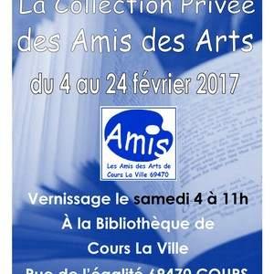 EXPOSITION de la Collection Privée des Amis des Arts de Cours La Ville