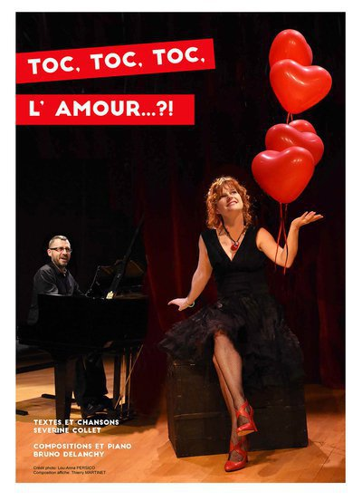 """Concert-spectacle """"Toc Toc Toc L'Amour...?!"""""""