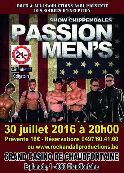 """Les Chippendales """"Passion Men's"""""""
