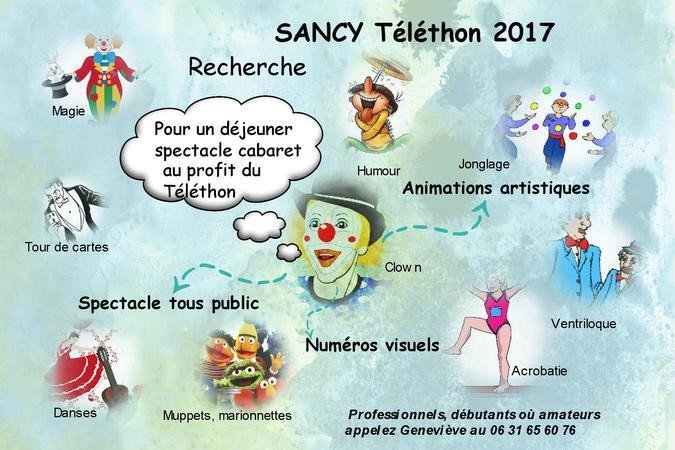 SANCY Téléthon 2017