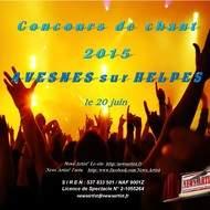 Concours de Chant 2015