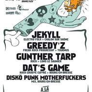 Soirée Rézo avec JEKYLL+GREEDY'S+GUNTHER TARP+DAT'S GAME