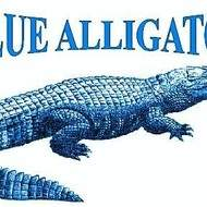 Association blue alligator