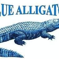 Association blue alligator