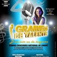 """""""Graines de Talents d'un Soir ou de Toujours"""" sélection Languedoc Roussillon Concours de Chant"""