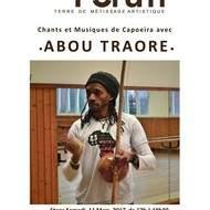 Stage Musique et chants de Capoiera avec Abou Traore