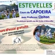 Cours de capoeira à Estevelles
