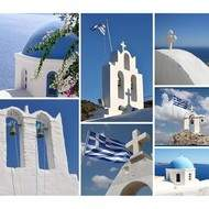 CARNET DE VOYAGE en GRECE Croquis Aquarelle à SANTORIN et Athènes