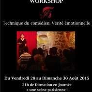 Workshop Technique du comédien, Vérité émotionnelle