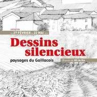 """""""Dessins silencieux, paysages du Gaillacois"""" oeuvres de Wil de Bie"""