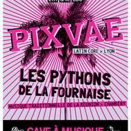 LES PYTHONS DE LA FOURNAISE + PIXVAE